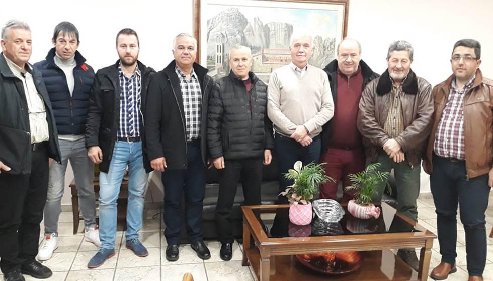 Συνάντηση του Δημάρχου Μετεώρων Θοδωρή Αλέκου με την Ομάδα Πρωτοβουλίας Χασιωτών