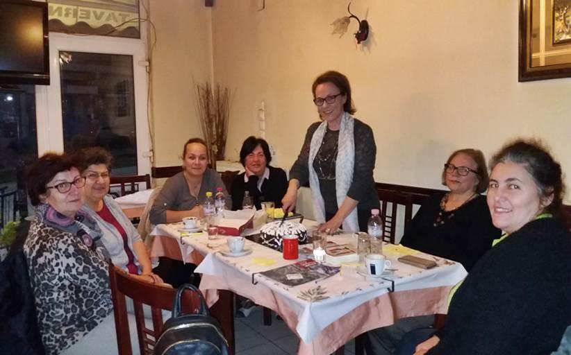Κοπή πίτας από την Ομάδα Γυναικών Καλαμπάκας