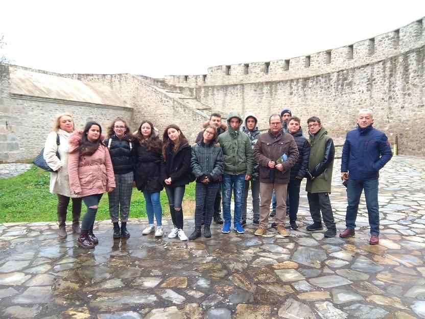 Επίσκεψη Γυμνασίου Οξύνειας στο Βυζαντινό Φρούριο των Τρικάλων