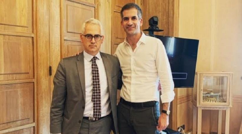 Με τον Δήμαρχο Αθηναίων, Κώστα Μπακογιάννη συναντήθηκε ο Πρόεδρος του ΚΕΘΕΑ Χρίστος Λιάπης