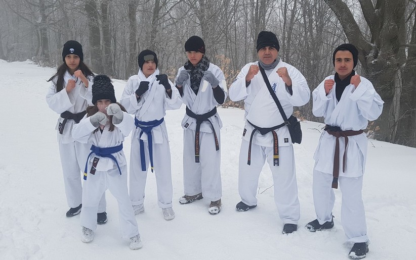 Συμμετοχή του Α.Σ. Μαχητικών Τεχνών Καλαμπάκας σε χειμερινό σεμινάριο στο Πήλιο
