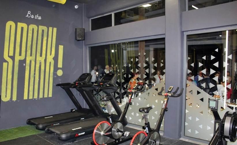 Ανακοίνωση του γυμναστηρίου Spark