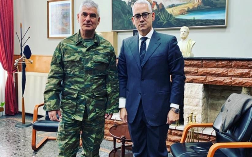 Με τον Διοικητή της ΣΜΥ, για τον Κορονοιό, ο Χρίστος Λιάπης