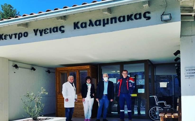 Εθελοντικά στη διάθεση του ΚΥ Καλαμπάκας ο Χρίστος Λιάπης, για την αντιμετώπιση ψυχιατρικών επειγόντων περιστατικών εν μέσω COVID19
