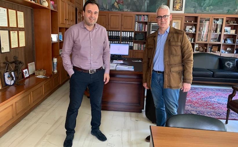 Με τον Πρόεδρο της ΚΕΔΕ και Δήμαρχο Τρικκαίων ο Χρήστος Λιάπης