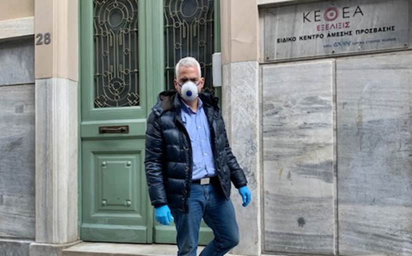 Ο Πρόεδρος του ΚΕΘΕΑ, Χρίστος Λιάπης, για την υποστήριξη των άστεγων χρηστών, εν μέσω της COVID-19