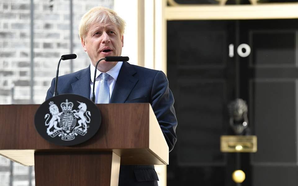 Θετικός στον κορωνοϊό ο Βρετανός πρωθυπουργός Μπόρις Τζόνσον