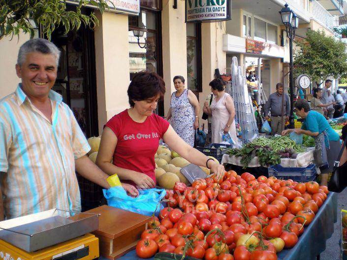 Δήμος Μετεώρων: Πίνακας συμμετοχής στη Λαϊκή Αγορά της Καλαμπάκας στις 03 Απριλίου