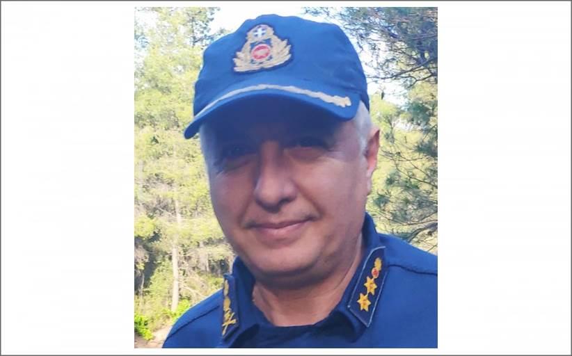 Nέος Διοικητής της Πυροσβεστικής Υπηρεσίας Χαλκίδας και των Κλιμακίων της είναι πλέον ο Διαβήτης Αντιπύραρχος Περικλής Κουλκουβίνης