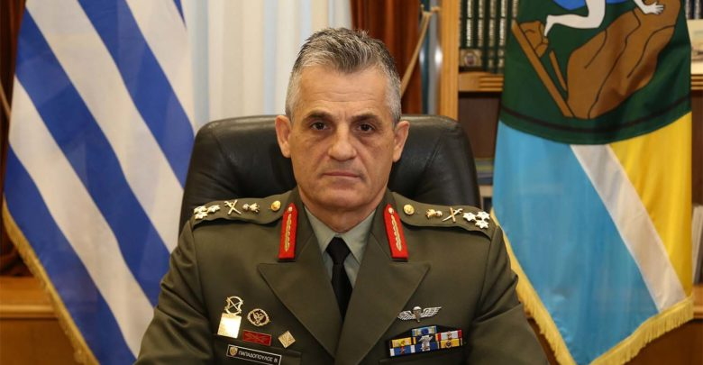 Νέος διοικητής της 1ης Στρατιάς ο αντιστράτηγος Βασίλειος Παπαδόπουλος