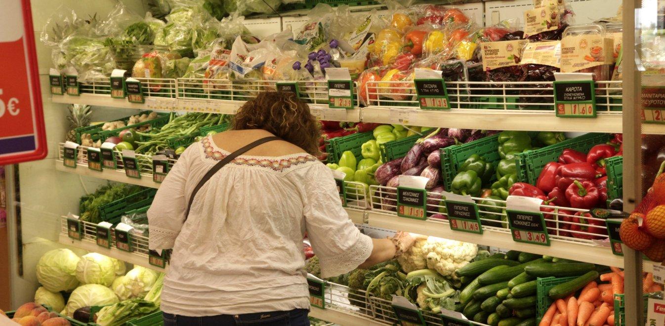 Αυξήθηκαν οι τιμές σε φρούτα, λαχανικά