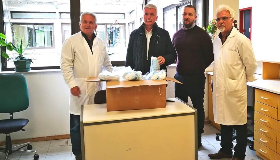 Ευχαριστήριο του Κέντρου Υγείας Καλαμπάκας προς τον Δήμο Μετεώρων για την προσφορά ειδών ατομικής προστασίας