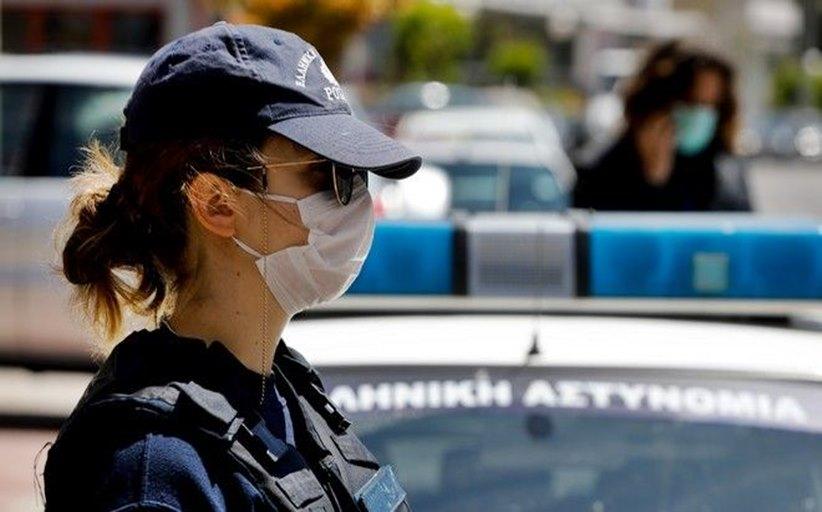 Πρόστιμα για μη χρήση της μάσκας στη Θεσσαλία