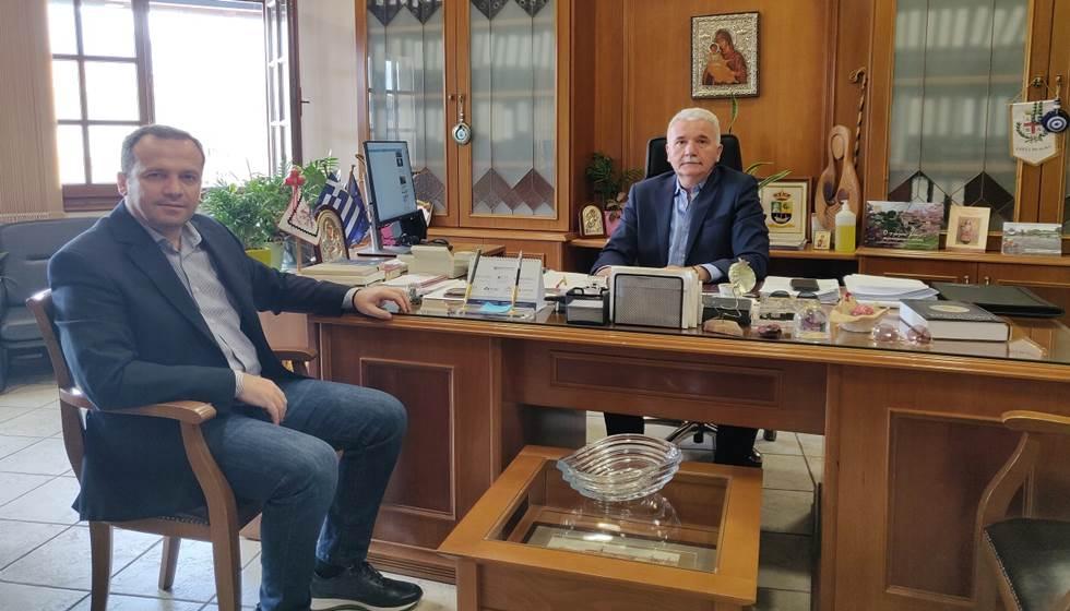 Συνάντηση του Δημάρχου Μετεώρων με τον Βουλευτή Ν. Τρικάλων κ. Αθανάσιο Λιούτα