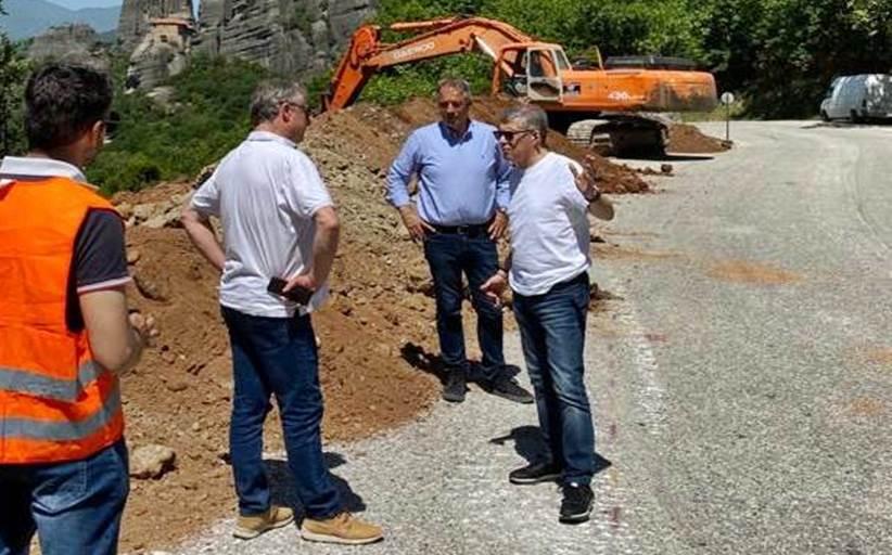 Σε εξέλιξη από την ΠΕ Θεσσαλίας παρεμβάσεις ύψους 1 εκατ. ευρώ στο οδικό κύκλωμα Μετεώρων