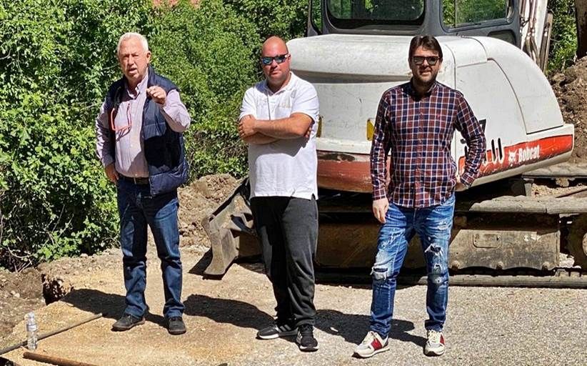 Γκόγκος Γεώργιος : Αποκατάσταση ενός προβλήματος χρόνων στο παλιό Καστράκι