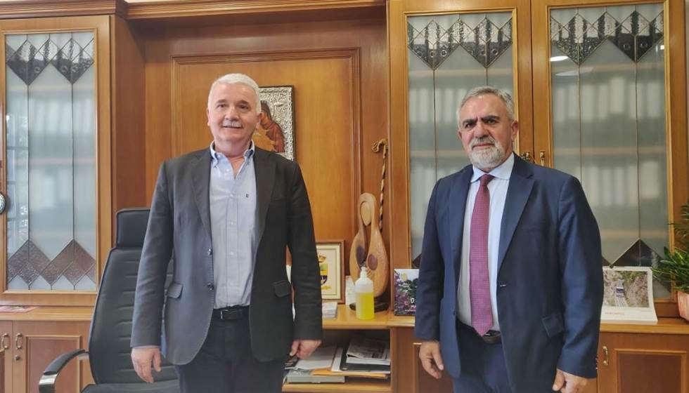 Με τον Διευθυντή της ΕΔΑ ΘΕΣΣ κ. Μπακούρα Λεωνίδα συναντήθηκε ο Δήμαρχος Μετεώρων