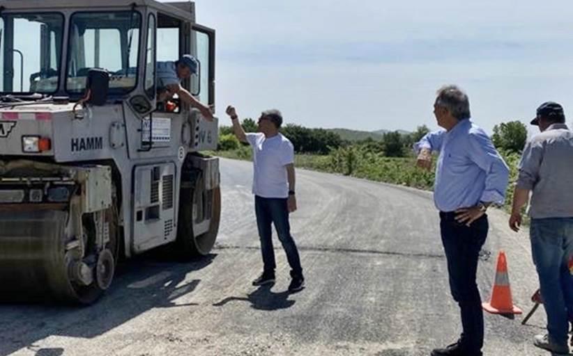 Ασφαλής ο δρόμος Ράξα προς Βασιλική - Έργο ύψους 300.000 ευρώ από την Περιφέρεια Θεσσαλίας