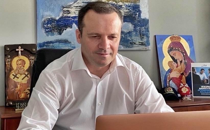 Για τον τόπο του, τον Νομό Τρικάλων μίλησε ο Θανάσης Λιούτας στον Πρωθυπουργό