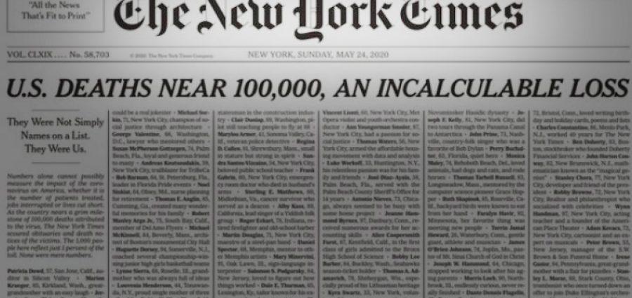 100.000 θάνατοι με ονοματεπώνυμο