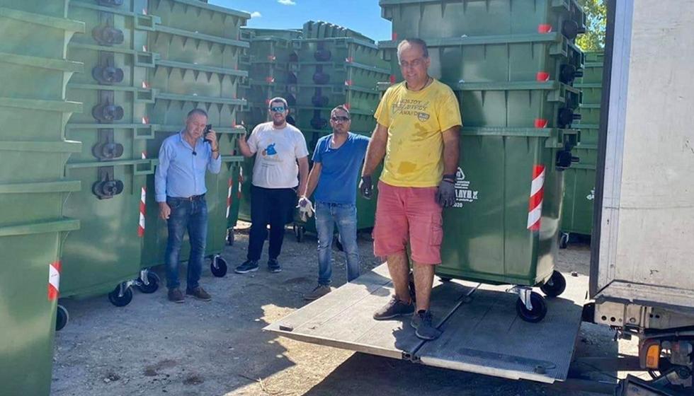 Προμήθεια εξοπλισμού προσωρινής αποθήκευσης απορριμμάτων