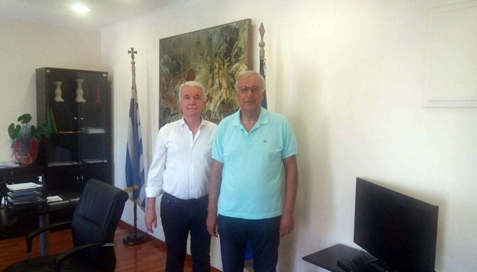 Σημαντικές συναντήσεις του Δημάρχου σε Υπουργείο Εσωτερικών και Πολιτισμού