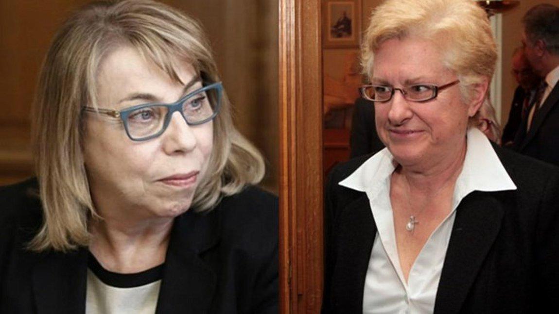 Η Μαίρη Σαρπ νέα πρόεδρος του ΣτΕ και η Αγγ. Αλειφεροπούλου του Αρείου Πάγου