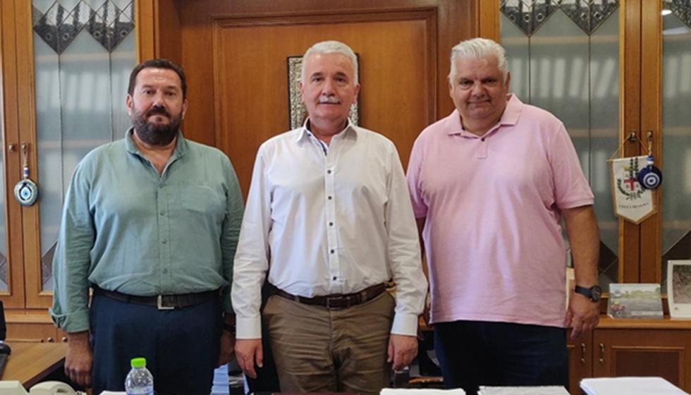 Συνάντηση του Δημάρχου Μετεώρων με τον Εντεταλμένο Σύμβουλο Τουρισμού της Περιφέρειας κ. Ι. Μπουτίνα
