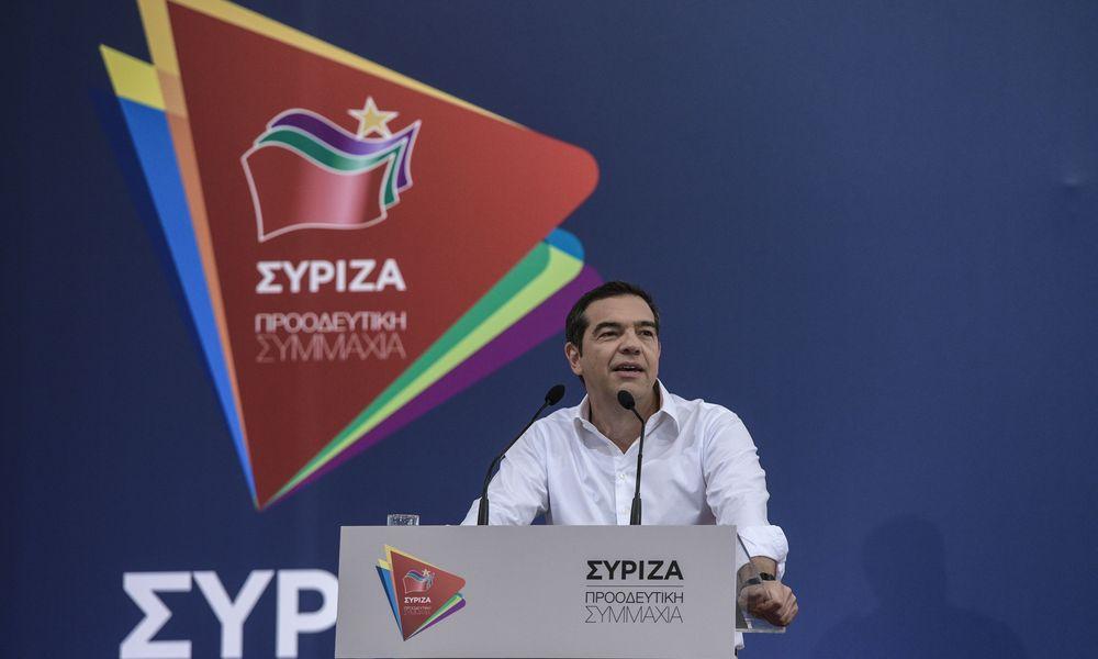 Αλέξης Τσίπρα στην ΚΕΑ του ΣΥΡΙΖΑ: «Στην πραγματικότητα εγώ είμαι ο στόχος της ΝΔ»