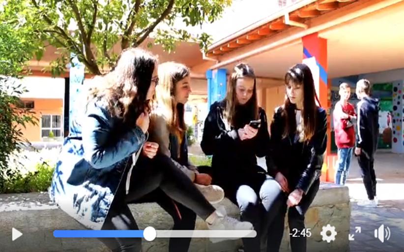 Δείτε ένα υπέροχο βίντεο κατά του (μπούλινγκ - bullying) από τα παιδιά του 1ου Γυμνασίου Καλαμπάκας