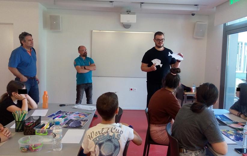 Πραγματοποιήθηκε η πρώτη φάση του εργαστηρίου Ξυλογλυπτικής στη Βιβλιοθήκη Καλαμπάκας