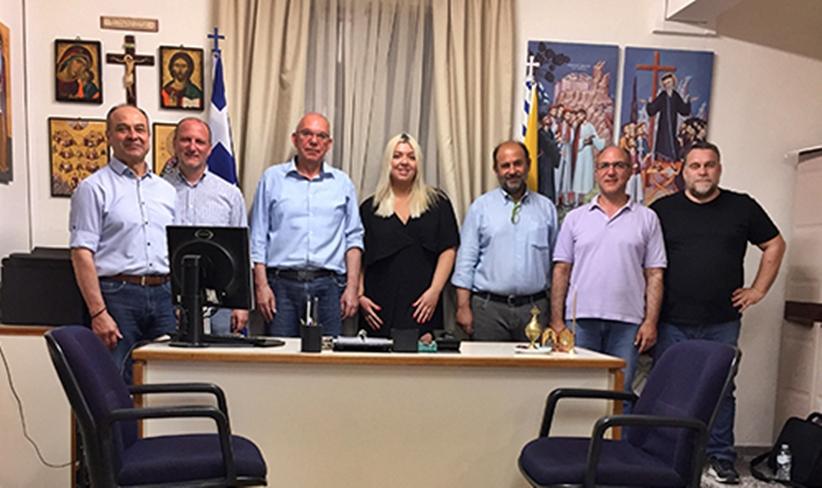 Συγκροτήθηκε σε σώμα το νέο Διοικητικό Συμβούλιο του Συλλόγου