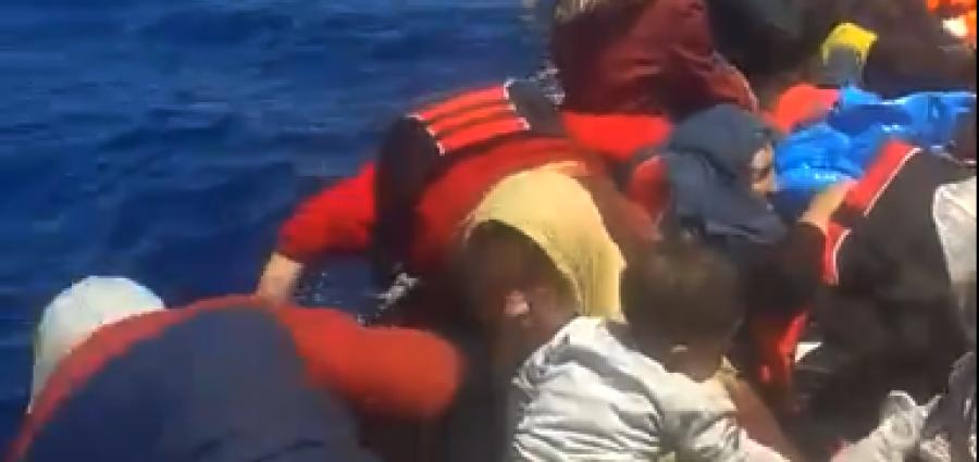 Το λιμενικό επί 18 ώρες άφηνε αβοήθητους προσφυγές βόρεια της Λέσβου