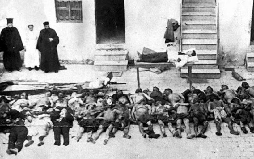 Η Σφαγή του Διστόμου...10 Ιουνίου 1944 -  Οι Ναζί έκαψαν το Δίστομο και σκότωσαν 218 κατοίκους, βρέφη παιδιά, γυναίκες και άνδρες