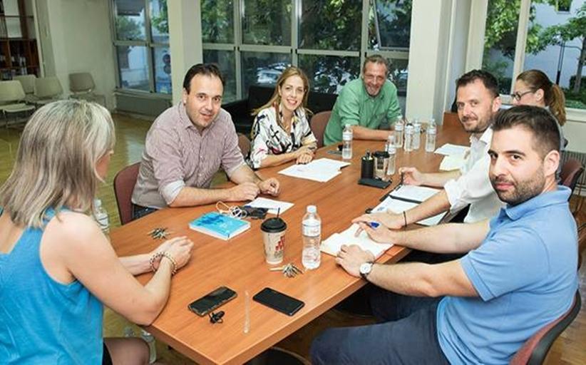 Συνάντηση της Ν.Ε ΤΕΕ με τον Δήμαρχο Τρικκαίων και την Αντιδήμαρχο Τεχνικών έργων
