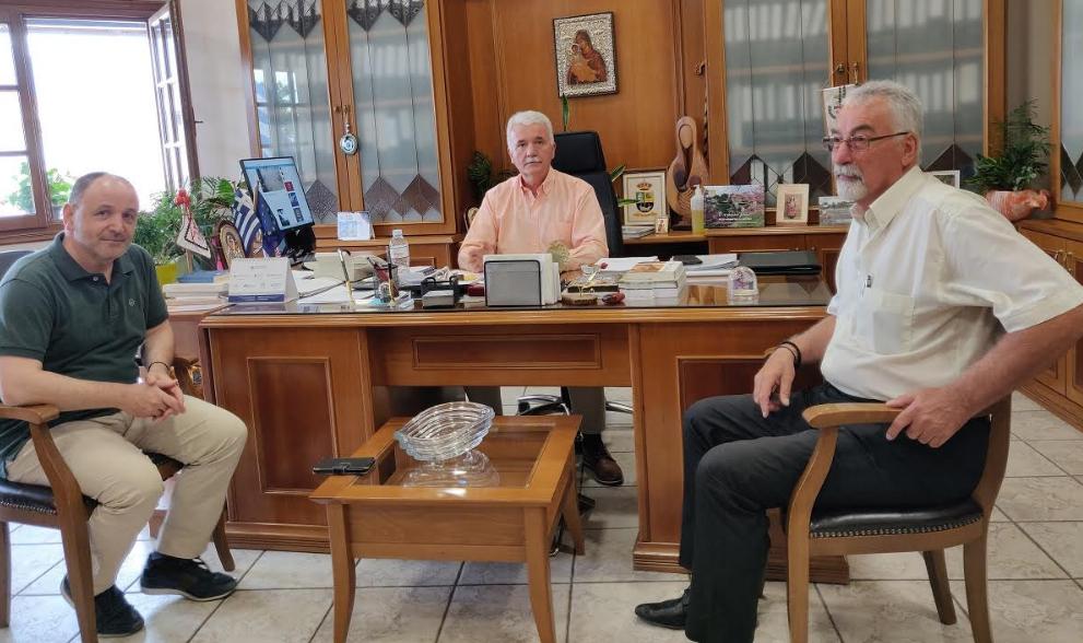 Τον Σύλλογο Πολυτέκνων Γονέων Ν. Τρικάλων υποδέχτηκε ο Δήμαρχος Μετεώρων κ. Αλέκος