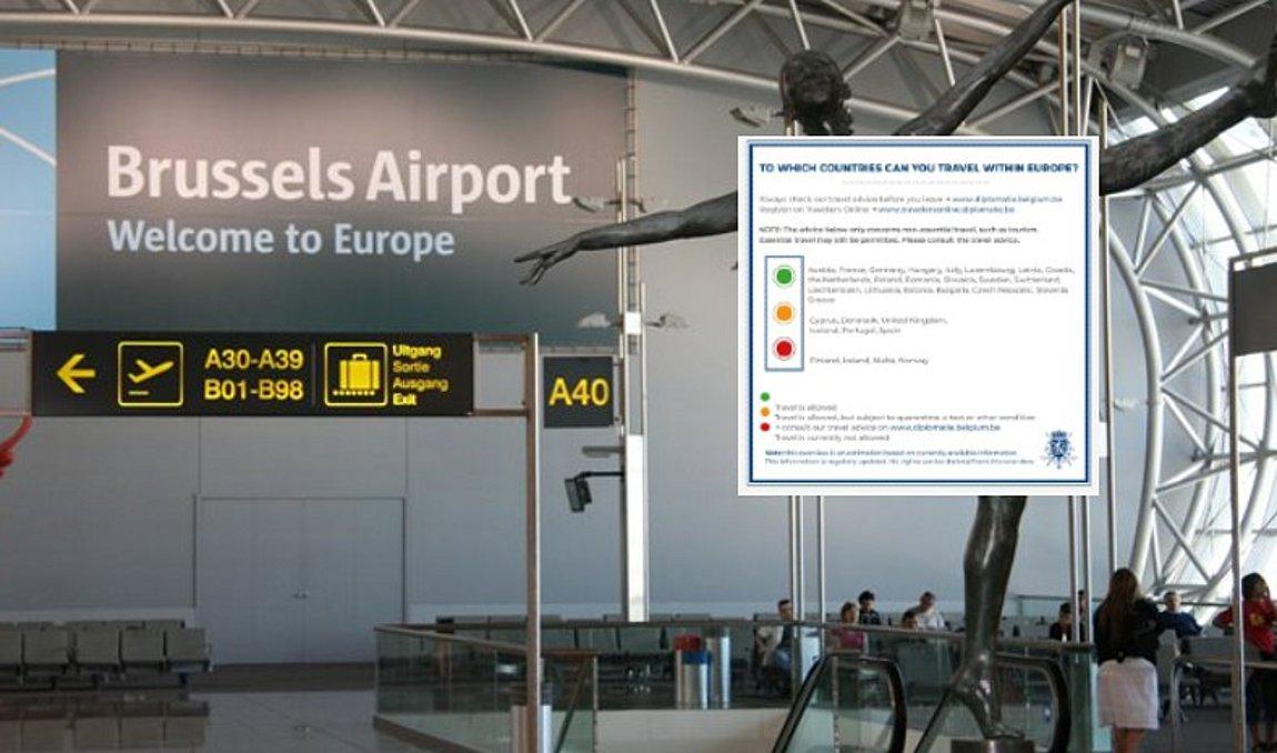 Βέλγιο: Στην «πράσινη λίστα» χωρών η Ελλάδα, όχι όμως και η Κύπρος