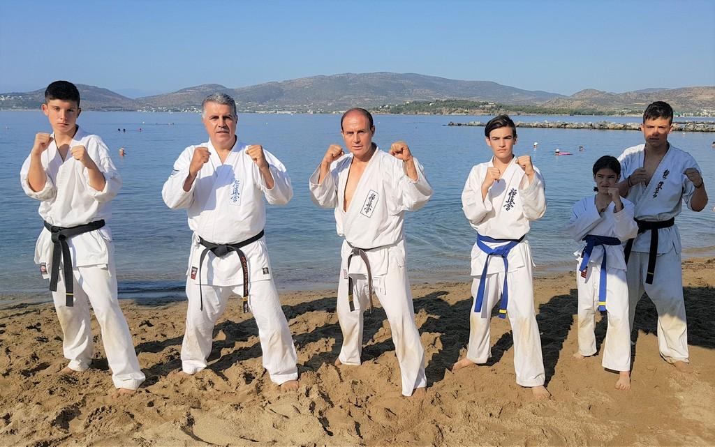 Α.Σ. Μαχητικών Τεχνών Καλαμπάκας: Greek Kyokushinkai karate Summer Camp
