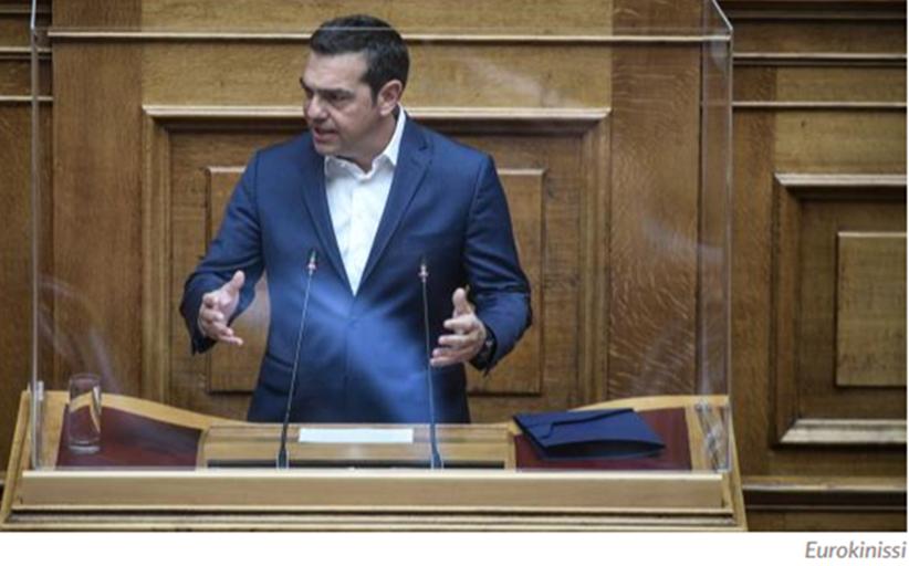 Τσίπρας στη Βουλή: Η κυβέρνηση επικαλείται την ενότητα και οδηγεί τη χώρα στο βούρκο