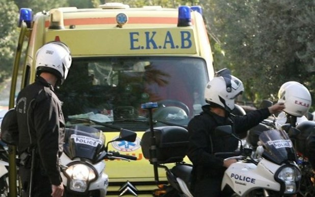 Άγρια καταδίωξη έξω από τα Τρίκαλα με σοβαρό τραυματισμό αστυνομικού