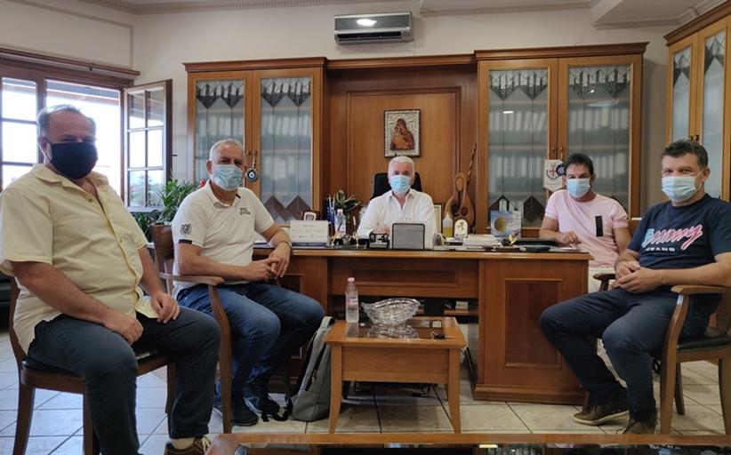 Τον Δήμαρχο Μετεώρων επισκέφθηκε ο νέος Διευθυντής της Πρωτοβάθμιας Εκπαίδευσης Τρικάλων