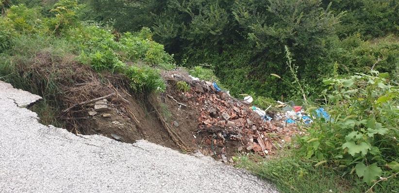 Πολλές καταστροφές για την Τ.Κ Ασπροκκλησιάς κατέγραψε ο Πρόεδρος κ. Ν. Μόκκκας