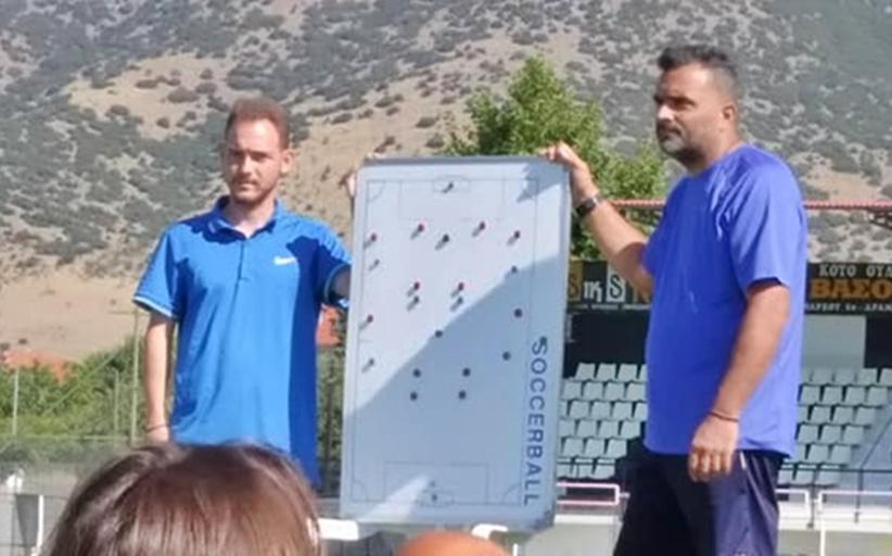 Ολοκλήρωσε τη σχολή UEFA A΄ ο προπονητής των Μετεώρων, κ. Νίκος Μανούρας