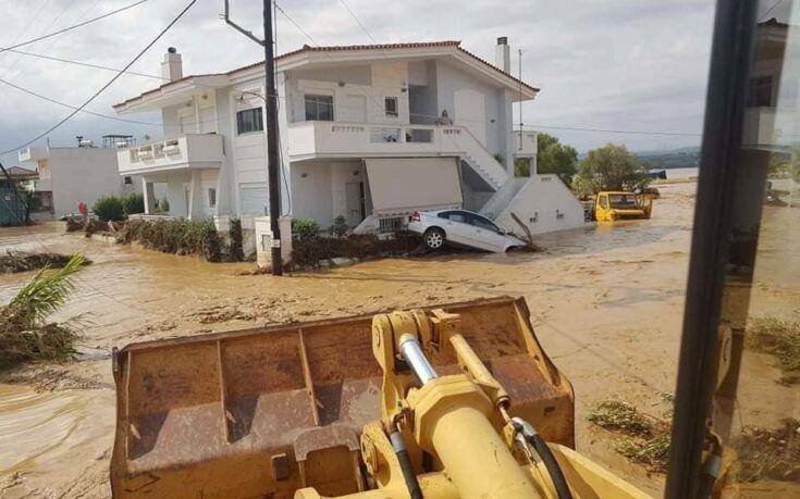 Εύβοια: Έξι νεκροί, ένας αγνοούμενος και περίπου 2.500 κατεστραμμένα σπίτια
