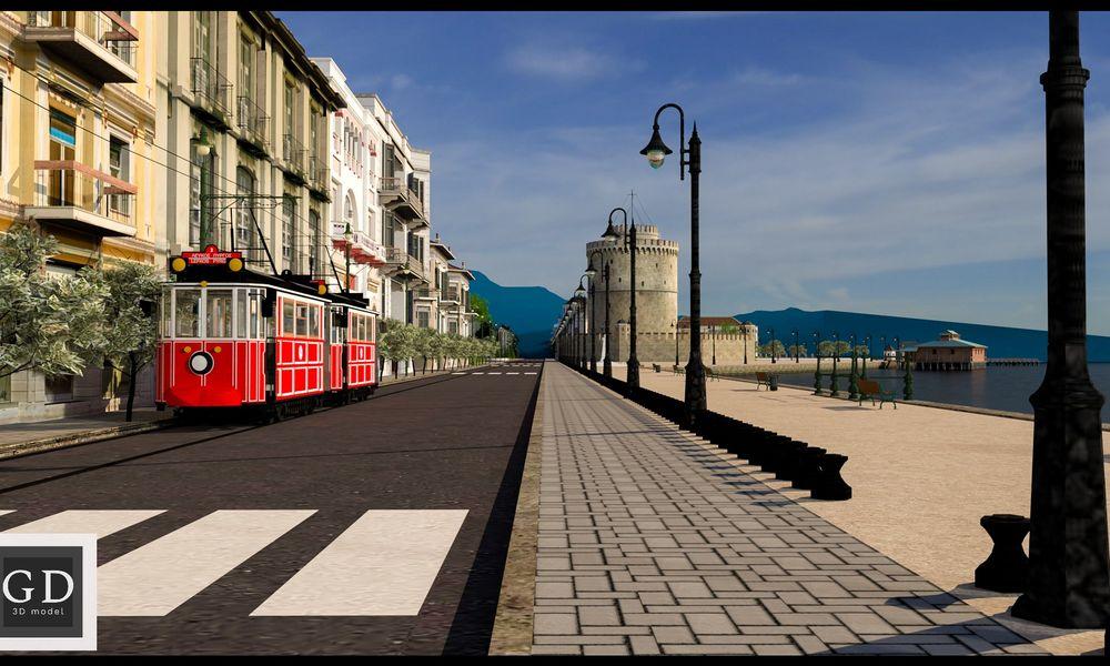 Ψηφιακή ανάπλαση ιστορικών τοπόσημων της Θεσσαλονίκης