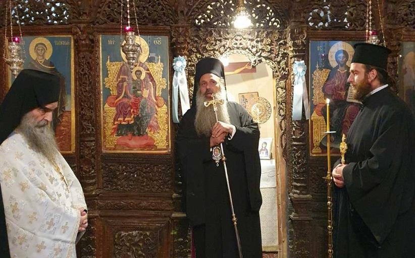 Ο Σεβ. Μητροπολίτης Σταγών και Μετεώρων κ.Θεόκλητος στο υψηλότερο χωριό της Μητροπόλεως, στο Στεφάνι