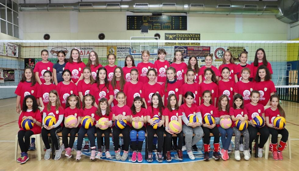 Ξεκινούν οι προπονήσεις της Ακαδημίας Βόλεϊ του Φιλαθλητικού Καλαμπάκας
