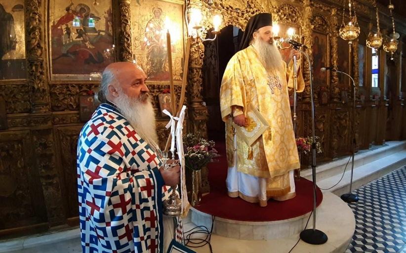 Ο Σεβασμιότατος Μητροπολίτης κ. Θεόκλητος στον ενοριακό ιερό ναό Αγίου Γεωργίου Καστανιάς
