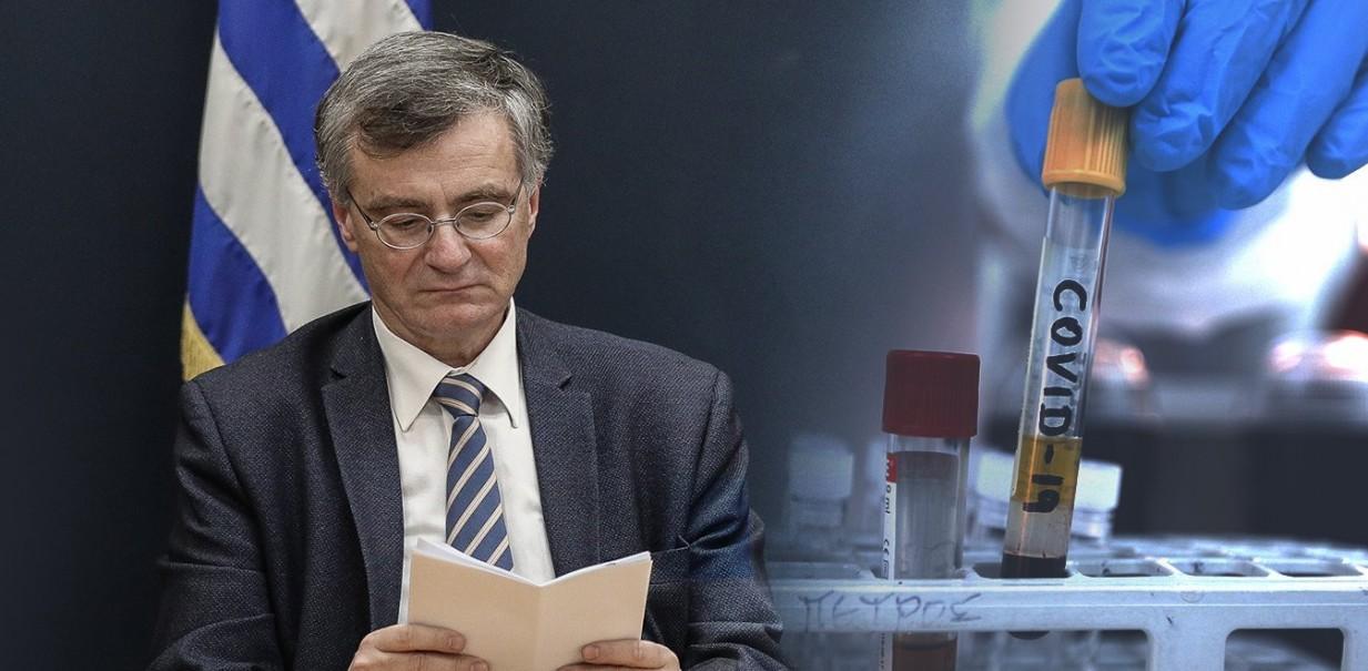 Τσιόδρας: Μέσα στον Οκτώβριο τα αποτελέσματα μελετών για το εμβόλιο κορονοϊού