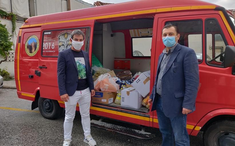 Αποστολή τροφίμων και ειδών πρώτης ανάγκης στην πληγείσα περιοχή του Μουζακίου
